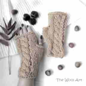 Rękawiczki mitenki the wool art mitenki, rękawiczki, jesienne