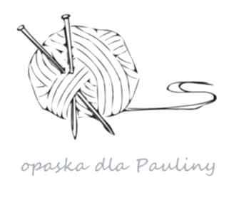 Opaska dla pauliny wełna turkusy opaski aga made by hand