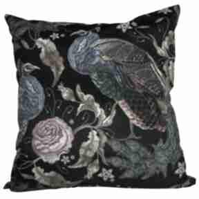 Stylowa poduszka dekoracyjna z weluru, pawie poduszki dizzydot