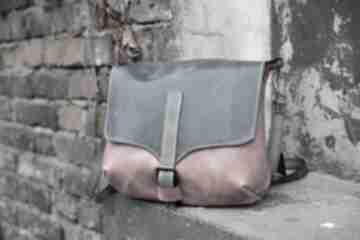 Torebka skórzana na ramię navahoclothing torebka, torba