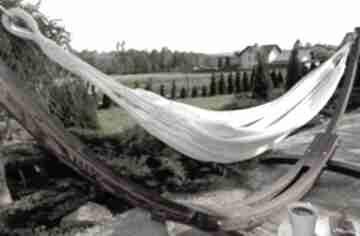 Hamak podwójny z gratisem dom loop line design xl, odpoczynek
