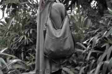 Workówka plecionka brąz na ramię manufakturamms torba, torebka
