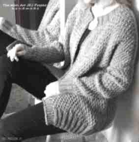 Gruby sweter zamówienie p anna swetry the wool art sweter,