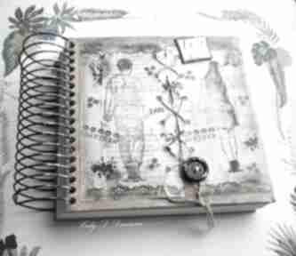 Notatnik szkicownik just be my friend scrapbooking notesy