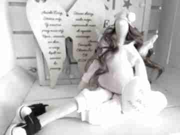lalki? Anioł tilda lalka pamiątka Chrzest
