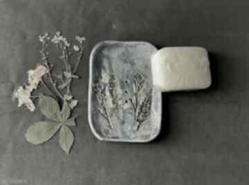 "Ceramiczna mydelniczka ""zielnik"" ceramika ceramystiq studio"