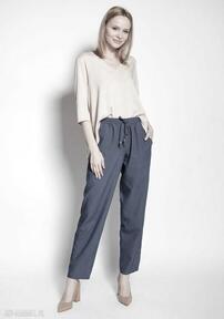 spodnie. Luźne spodnie - SD122 jeans