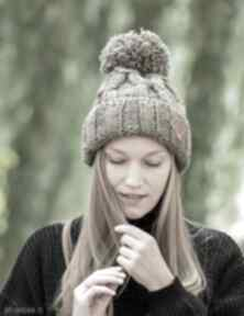Euforia ice coffee czapki brain inside czapka, zimowa, wełniana