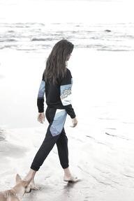 Spodnie dresowe manifesto art bawełna, bawełniane, spodnie