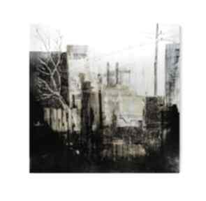 Obraz na płótnie abstrakcja miasto loft industrial 100 x cm art