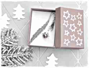 Na święta prezent: Złocisty aniołek - zakładka, prezent zakładki