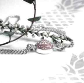 Bransoletka ze srebra i mozaiki silvella modna bransoletka