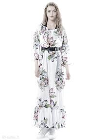 Tatiana maxi hypnotic lily sukienki milita nikonorov szyfonowa