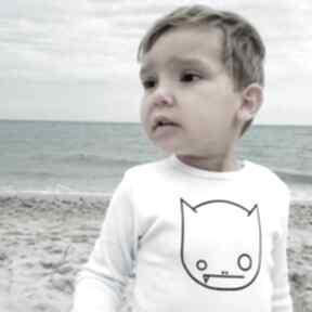 Body dziecięce i niemowlęce z długim rękawem - wilk tricky forms