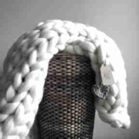 Pled xxl 120x180 wełna merynos chunkyblanket koce i narzuty wool