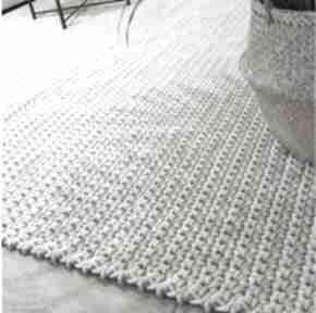 Motilove dywan ze sznurka, na szydełku, pleciony, ręcznie