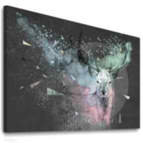 ludesign gallery: Nowoczesny obraz do salonu drukowany