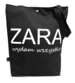 Torba zara gaul designs torba, torebka, pojemna