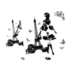 Kobieta w paryżu - kartka scrapbooking kartki jelonkaa kobieta
