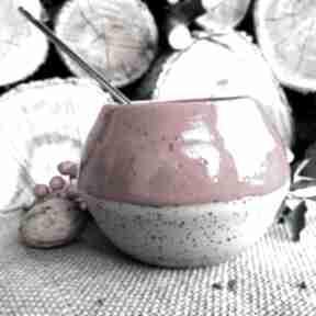 GAIA ceramika: CZERWONE MATERO do YERBA MATE - duża czarka
