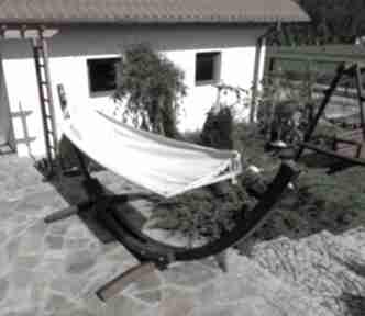 Hamak pojedynczy z gratisem dom loop line design wiszący, taras