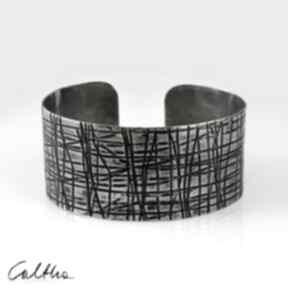Kraty - metalowa bransoletka 150306 -01 caltha bransoleta
