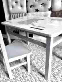 Stolik i krzesełko maluch pokoik dziecka wnetrze z gustem meble