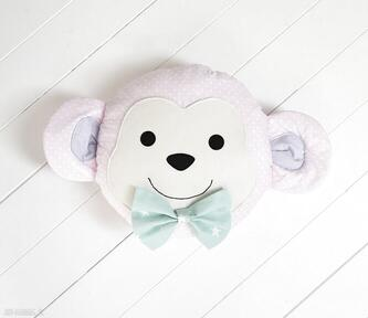 Pokoik dziecka jobuko poduszka, poduszka małpka, zabawka