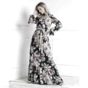 sukienki. sukienka-maxi maxi długa-sukienka sukienka-w-kwiaty