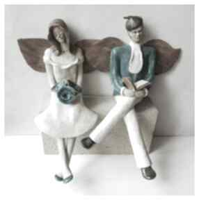 Wylegarnia pomyslowceramika ślub anioły róże książka