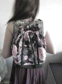 Upominki na święta? Plecak worek torba - piwonie torebki