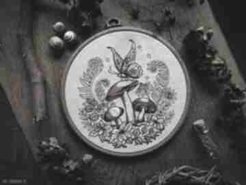 """dekoracje. obrazek haftowany """"magical"""""""