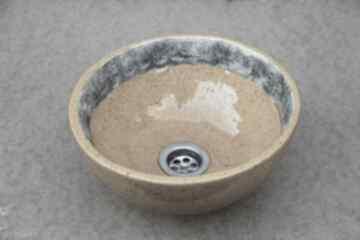 Mała umywalka nablatowa ceramika ceramikalukasgreen ceramiczna