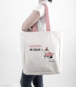 Licencjonowana torba xxl muminki z czerwonym walentynek nie