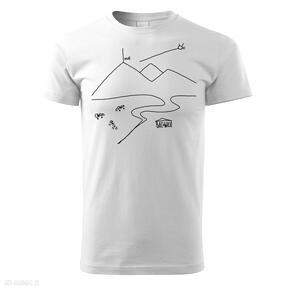 Tatra art rawhabits tatrzańska klasyka white koszulki koszulka