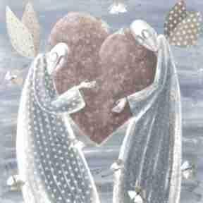 Wielkie serce miłość dom marina czajkowska anioł, anioły,