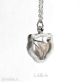 Prawdziwa szałwia - naszyjnik, kot naszyjniki liliarts medalion