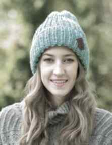 Lucky turkusowy szlachcic czapki brain inside czapka, zimowa