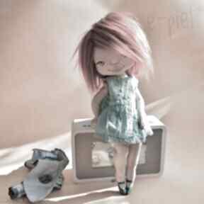 Nastka - lalka kolekcjonerska figurka tekstylna ręcznie szyta