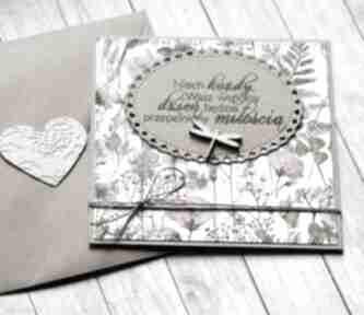Kartka ślubna: na łące kartki kaktusia ślub, ślubna, polne