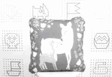 Poduszka sarenki 46x46 pokoik dziecka nuvaart poduszka
