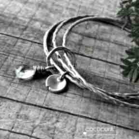 Cocopunk. błękitna srebrna prezent codzienna minimalistyczna
