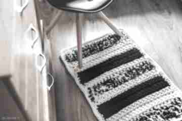 Chodnik, dywan codzienny szydełkowany by monica dywanik, eco
