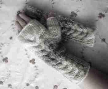 W beżach rękawiczki izabelaart1 ciepłe, modne