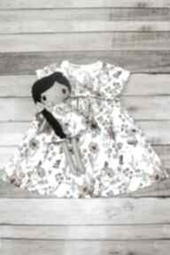 Zestaw pola sukienka i lalka ladalla lalka, dla dziewczynki