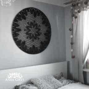 Black mandala dekoracje anna grys mandala, łapacz snów