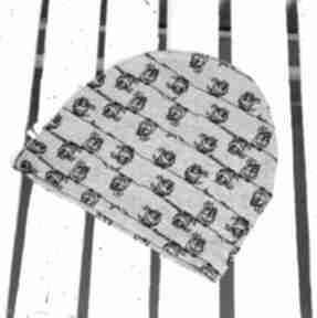 Czapka sowy czapki godeco czapka, sowy, jesień, szkoła