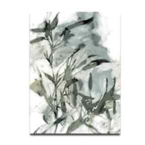 Obraz na płótnie melodia wieczoru 60x90 renata bulkszas liście,