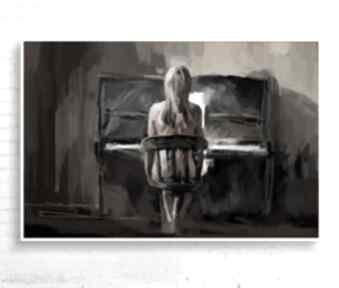 "Obraz na płótnie ""cisza"" 120x80 cm krzanooart obraz, design"