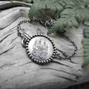 Celtic paw - bracelet radecka art srebrna bransoletka